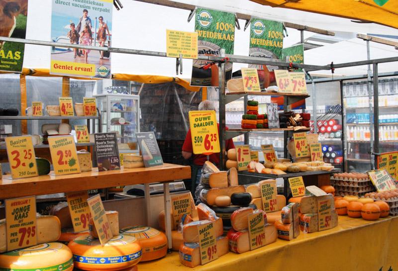 Albert-Cuyp-Markt, Amsterdam, Käse aus Holland, Städtetrip, Urlaub, Niederlande, Sehenswürdigkeiten, Reiseberichte, Blog, www.wo-der-pfeffer-waechst.de
