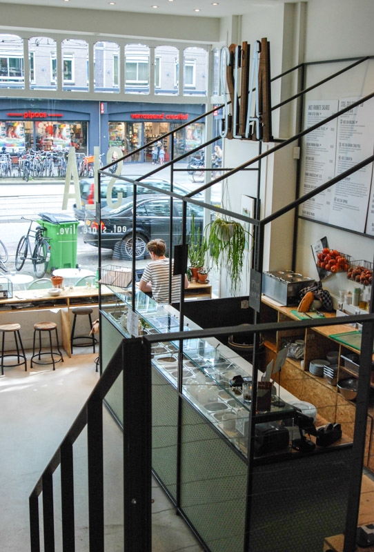 SLA, Salatbar, Amsterdam, Städtetrip, Essen, Trinken, vegetarisch, vegan, Stadtbummel, Urlaub, Niederlande, Holland, Reiseberichte, Blog, www.wo-der-pfeffer-waechst.de