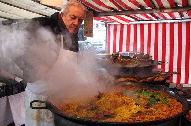 Frankreich, Märkte, Delikatessen, Fußball, Essen