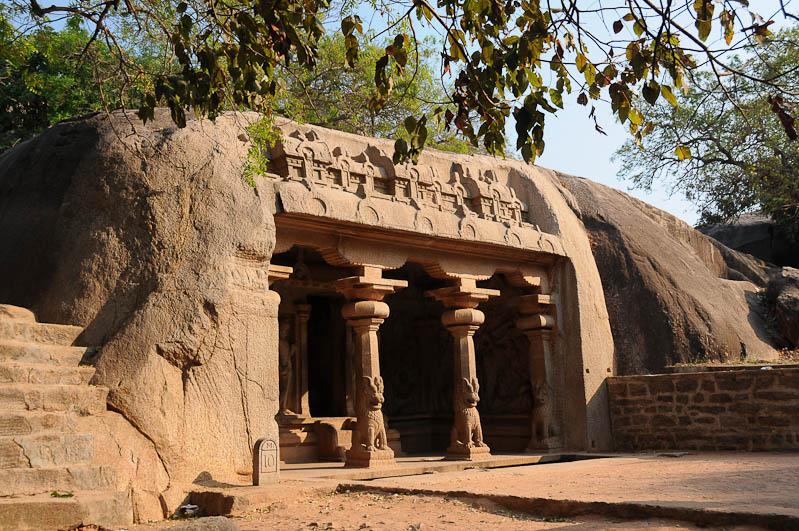 Mamallapuram, Mahabalipuram, Höhlentempel, Tamil Nadu, Tempeltour, Südindien, Reisetipps, Rundreisen, Asien, Reiseberichte, Reiseblogger, www.wo-der-pfeffer-waechst.de