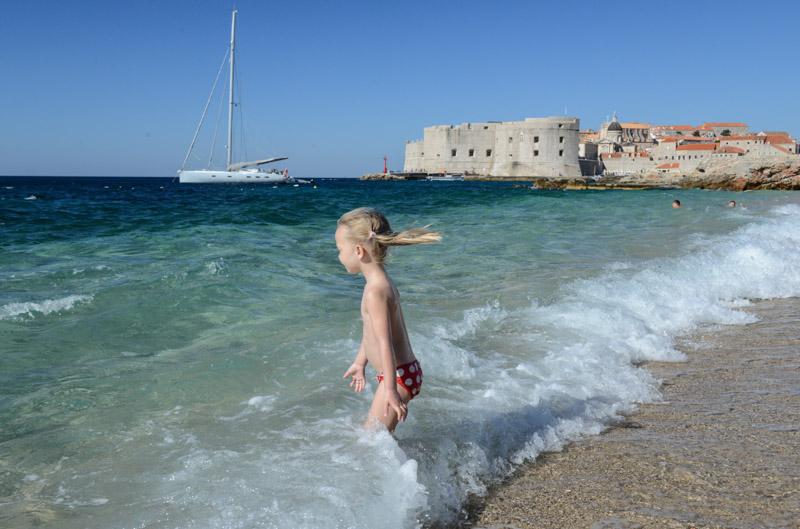 Dubrovnik, Kroatien, Croatia, Banje Beach, Strand, UNESCO-Weltkulturerbe, Adria, Städtetrip, Reisetipps, Rundreisen, Europa, Reiseberichte, Reisen mit Kindern,travel with children, Reiseblogger, www.wo-der-pfeffer-waechst.de