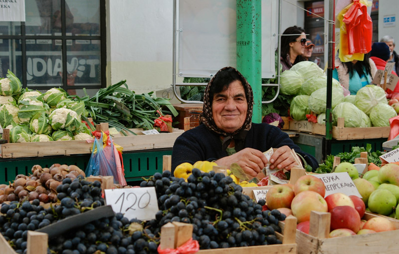 Kalenic-Markt, Belgrad, market, Marktfrau, Serbien, Hauptstadt, Städtetrip, Urlaub, Balkan, Südosteuropa, Reiseberichte, Blog, www.wo-der-pfeffer-waechst.de
