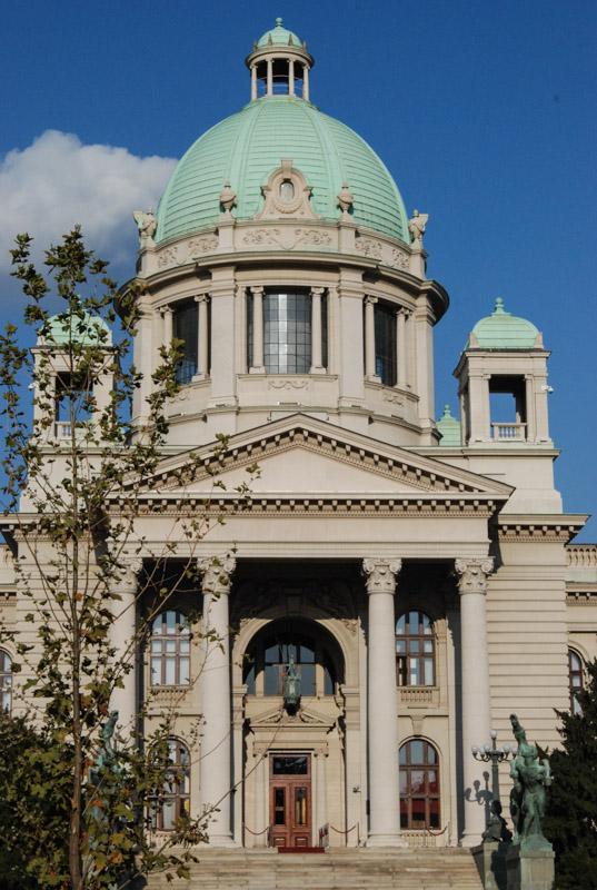 Reise nach Belgrad, Nationalversammlung Serbien, Dom Narodne Skupstine, Städtetrip, Urlaub, Balkan, Südosteuropa, Reiseberichte, Blog, www.wo-der-pfeffer-waechst.de
