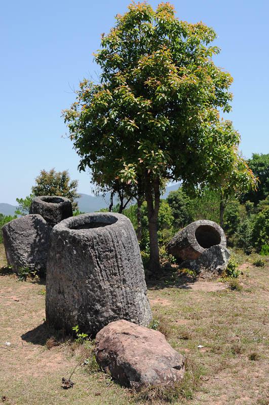 Ebene der Tonkrüge, Plain of Jars, Laos, Nordlaos, Phonsavan, Xieng Khouang, Reisetipps, Rundreisen, Asien, Reiseberichte, Reiseblogger, www.wo-der-pfeffer-waechst.de