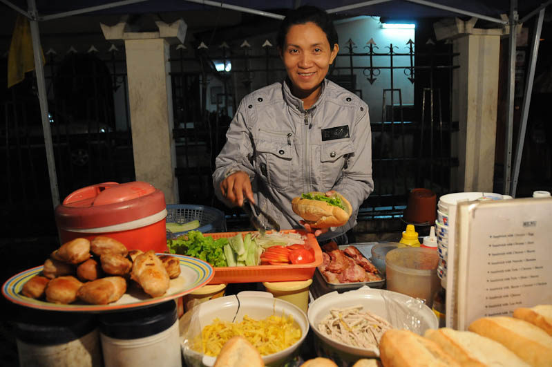 Laos, Nordlaos, Luang Prabang, Luang Phrabang, Louangphrabang, Hmong-Markt, Nachtmarkt, night market, Streetfood, street food, Reisetipps, Rundreisen, Asien, Reiseberichte, Reiseblogger, www.wo-der-pfeffer-waechst.de