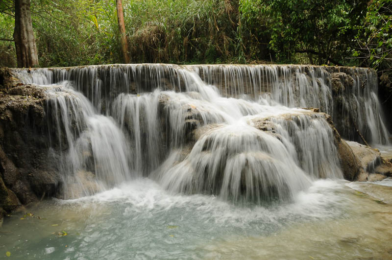 Laos, Nordlaos, Luang Prabang, Luang Phrabang, Louangphrabang, Tad Kuang Xi, Wasserfall, Wasserfälle, Tad Se, Reisetipps, Rundreisen, Asien, Reiseberichte, Reiseblogger, www.wo-der-pfeffer-waechst.de