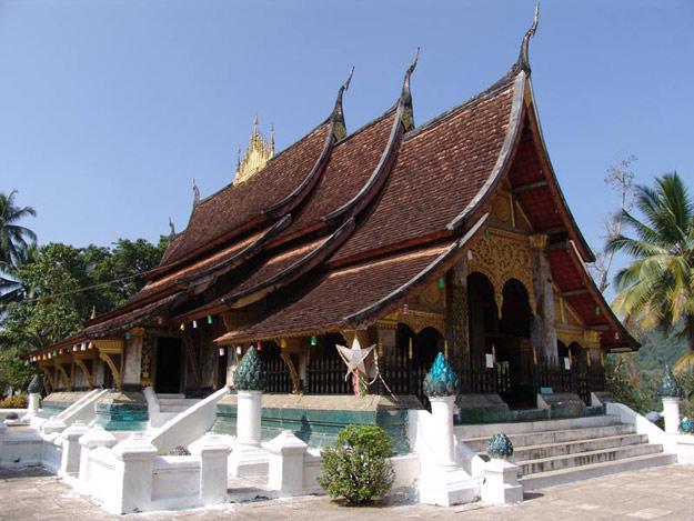 Laos, Nordlaos, Luang Prabang, Luang Phrabang, Louangphrabang, Wat Xieng Thong, buddhistisches Kloster, Reisetipps, Rundreisen, Asien, Reiseberichte, Reiseblogger, www.wo-der-pfeffer-waechst.de