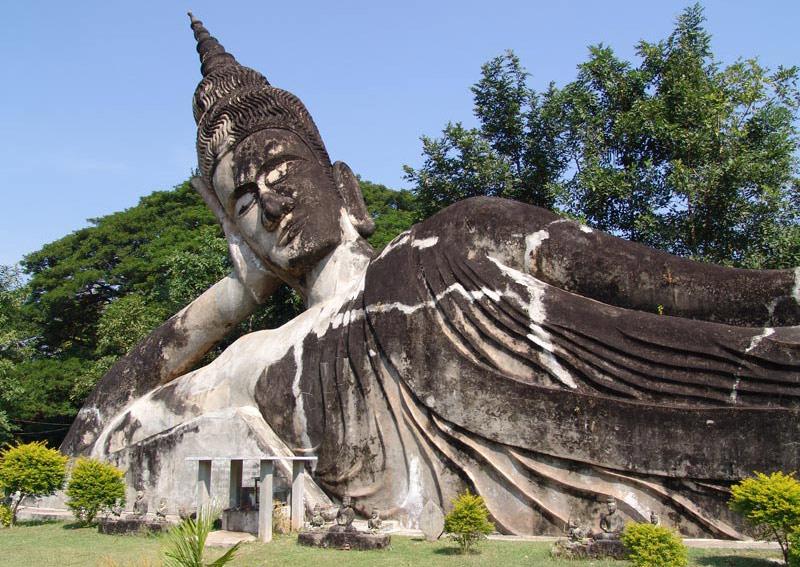 Vientiane, Laos, Hauptstadt, Buddha-Park, Xieng Khouan, Buddhastatuen, Reisetipps, Rundreisen, Asien, Reiseberichte, Reiseblogger, www.wo-der-pfeffer-waechst.de