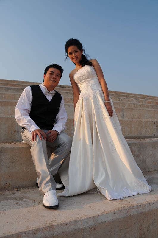 Vientiane, Laos, Hauptstadt, Hochzeitspaar, Reisetipps, Rundreisen, Asien, Reiseberichte, Reiseblogger, www.wo-der-pfeffer-waechst.de