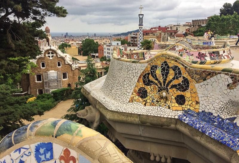 Barcelona, Park Güell, Antoni Gaudi, Reise nach Barcelona, Städtetrip, Städtereise, Wochenende, Reisetipps, Urlaub, Spanien, Katalonien, Hauptstadt, Sehenswürdigkeiten, Reiseberichte, Blog, www.wo-der-pfeffer-waechst.de