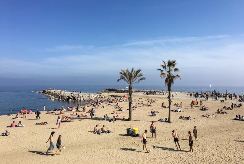 Barcelona, Strand, Strände, Beach, Barceloneta, Urlaub, holiday, Reise nach Barcelona, Städtetrip, Städtereise, Wochenende, Reisetipps, Urlaub, Spanien, Katalonien, Hauptstadt, Sehenswürdigkeiten, Reiseberichte, Blog, www.wo-der-pfeffer-waechst.de