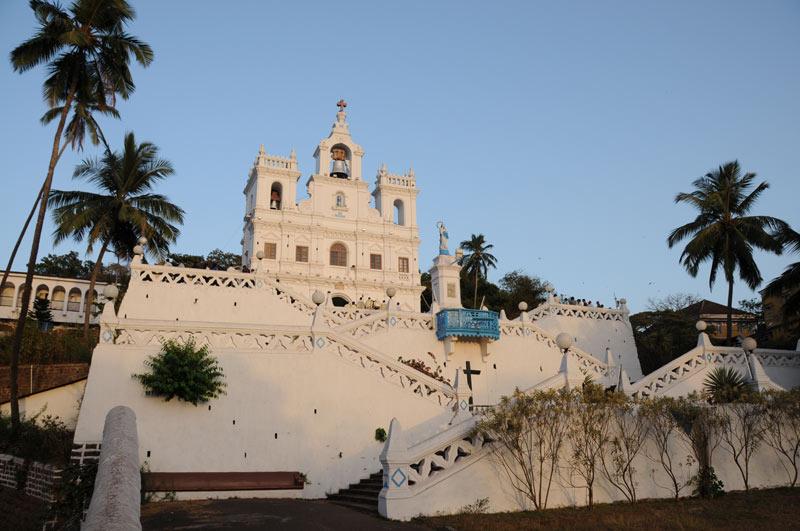 Our Lady of the Immaculate Conception, Kirche, Panaji, Old Goa, Ausflüge, Sehenswürdigkeiten, Tours, sightseeing, Indien, India, Südasien, Bilder, Fotos, Reiseberichte, www.wo-der-pfeffer-waechst.de