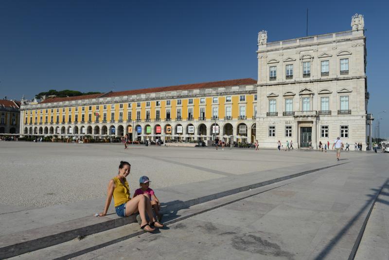 Praça do Comércio, Baixa, Lissabon, Lisboa, Portugal, Städtetrip, Reisen mit Kindern, Sehenswürdigkeiten, Südeuropa, Bilder, Fotos, Reiseberichte, Sommerurlaub, www.wo-der-pfeffer-waechst.de