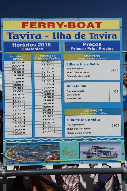 Tavira, Ilha de Tavira, Ferry Boat, timetable, Fähre, Abfahrt, Strand, Strände, Praia da Ilha de Tavira, Algarve, Portugal, Sandalgarve, Reisen mit Kindern, Südeuropa, Bilder, Fotos, Reiseberichte, Sommerurlaub, www.wo-der-pfeffer-waechst.de
