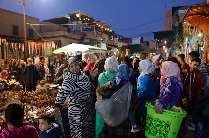 Marrakesch, Marokko, Märkte, Basare, Souks, Suks, Suqs, Medina, Altstadt, Shopping, abends, Reisebericht, Reisetipps, Afrika, Reiseblogger, www.wo-der-pfeffer-waechst.de