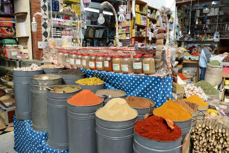 Marrakesch, Marokko, Gewürze, Spices, Rahba Kedima, Sklavenmarkt, Märkte, Basare, Souks, Suks, Suqs, Medina, Altstadt, Shopping, Reisebericht, Reisetipps, Afrika, Reiseblogger, www.wo-der-pfeffer-waechst.de