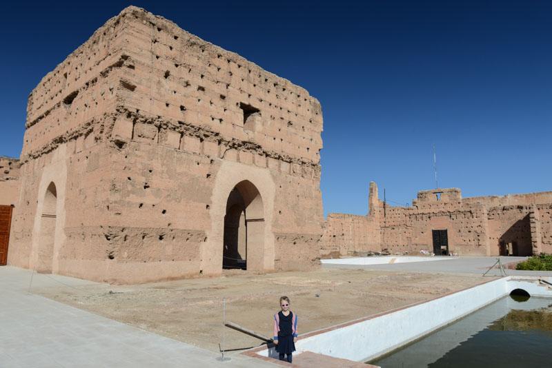 Palais el Badi, El-Badi-Palast, Marrakesch, Marokko, Reisen mit Kindern, Ruinen, Medina, Altstadt, Reisebericht, Reisetipps, Afrika, Reiseblogger, www.wo-der-pfeffer-waechst.de