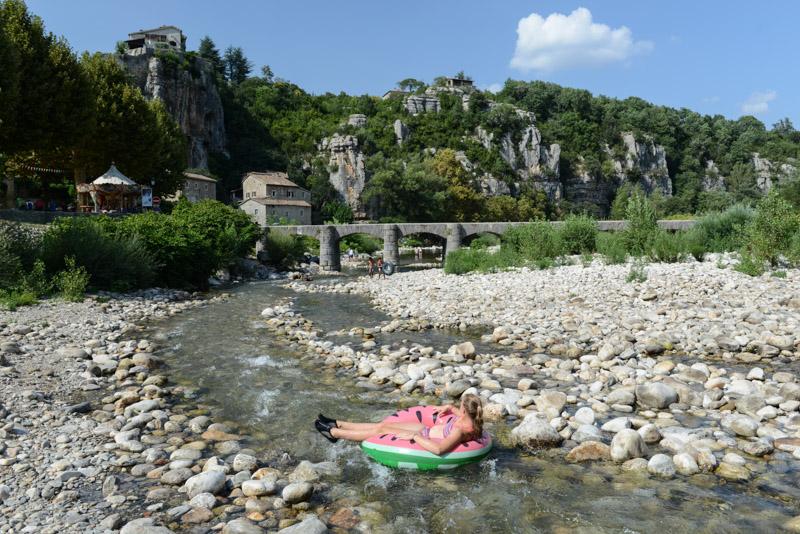 Labeaume, Villages de caractère, Ardèche, Badestelle, Baden, Südfrankreich, France, Sommerurlaub, Reisebericht, mit Kind, Kinder, Südeuropa, Reiseblogger, www.wo-der-pfeffer-waechst.de