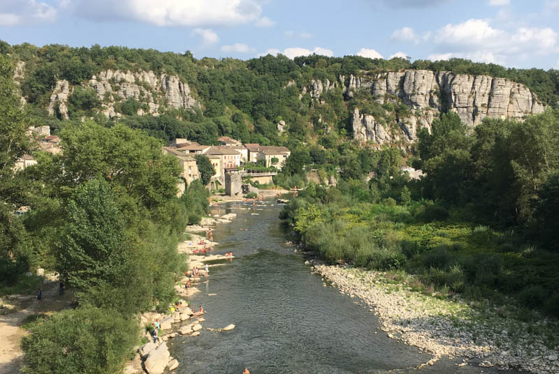 Vogüé, Villages de caractère, Ardèche, Südfrankreich, France, Sommerurlaub, Reisebericht, mit Kind, Kinder, Südeuropa, Reiseblogger, www.wo-der-pfeffer-waechst.de