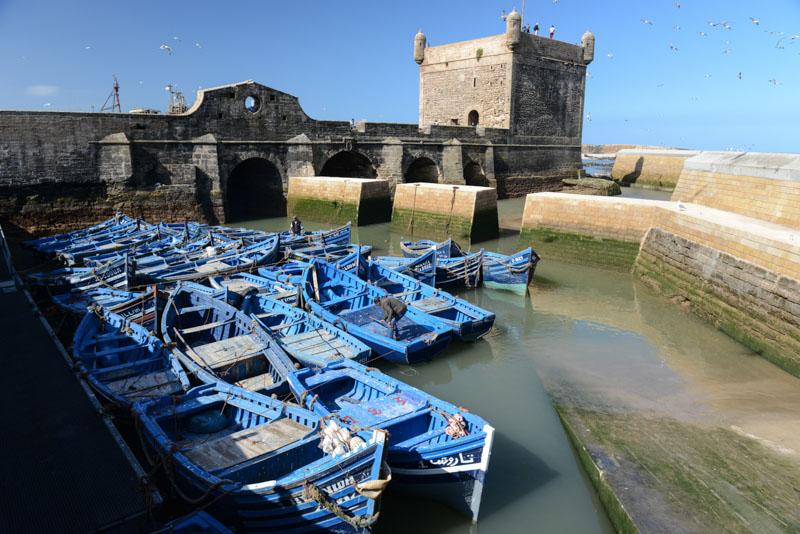 Essaouira, Hafen, harbour, port, Boote, boats, Marokko, Reisen, Bilder, Infos, Reisebericht, Reisetipps, Afrika, Reiseblogger, www.wo-der-pfeffer-waechst.de