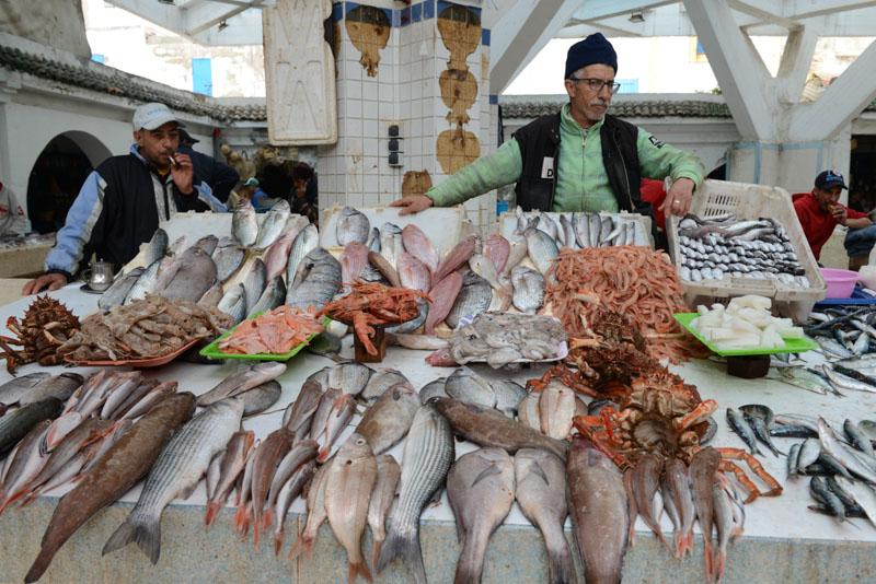 Fischmarkt, Essaouira, Medina, Altstadt, Markt, Souks, Marokko, Bilder, Infos, Reisebericht, Reisetipps, Afrika, Reiseblogger, www.wo-der-pfeffer-waechst.de
