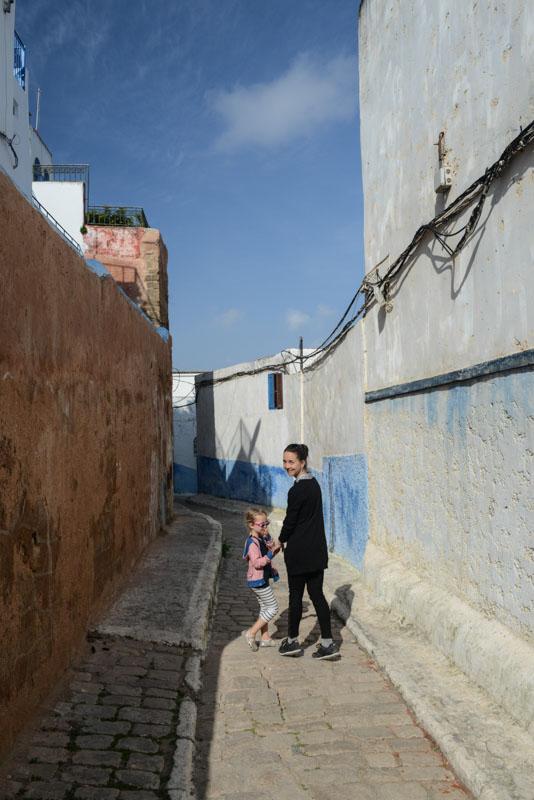 Rabat, Kasbah der Oudayas, Kasbah des Oudayas, Oudaias, Medina, blau-weiße Gassen, Marokko, Hauptstadt, Bilder, Infos, Reisebericht, mit Kind, Kinder, Urlaub, Hotel, Reisetipps, Afrika, Reiseblogger, www.wo-der-pfeffer-waechst.de