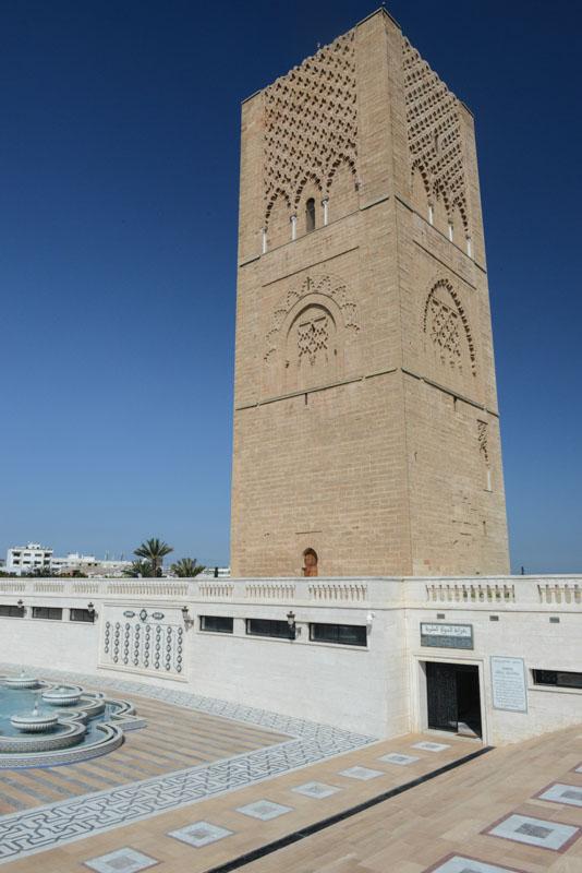 Hassan-Turm, Rabat, Sehenswürdigkeiten, Marokko, Hauptstadt, Bilder, Infos, Reisebericht, Urlaub, Hotel, Reisetipps, Afrika, Reiseblogger, www.wo-der-pfeffer-waechst.de