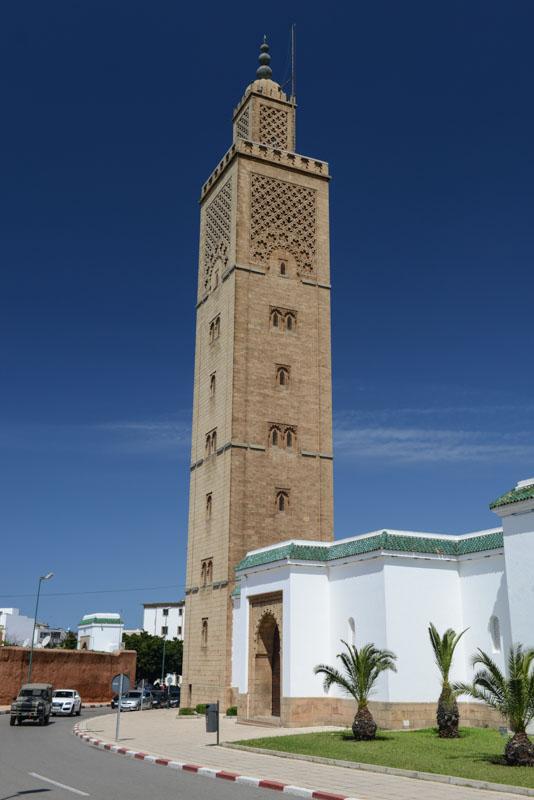 Rabat, Neustadt, Minarett, Moschee, Sehenswürdigkeiten, Marokko, Hauptstadt, Bilder, Infos, Reisebericht, Urlaub, Hotel, Reisetipps, Afrika, Reiseblogger, www.wo-der-pfeffer-waechst.de
