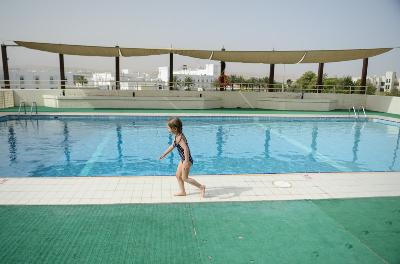 Maskat, Stopover, Oman, Golden Tulip Seeb Mascat, Hotel, Booking, Swimmingpool, Reisen mit Kindern, Reisebericht, www.wo-der-pfeffer-waechst.de