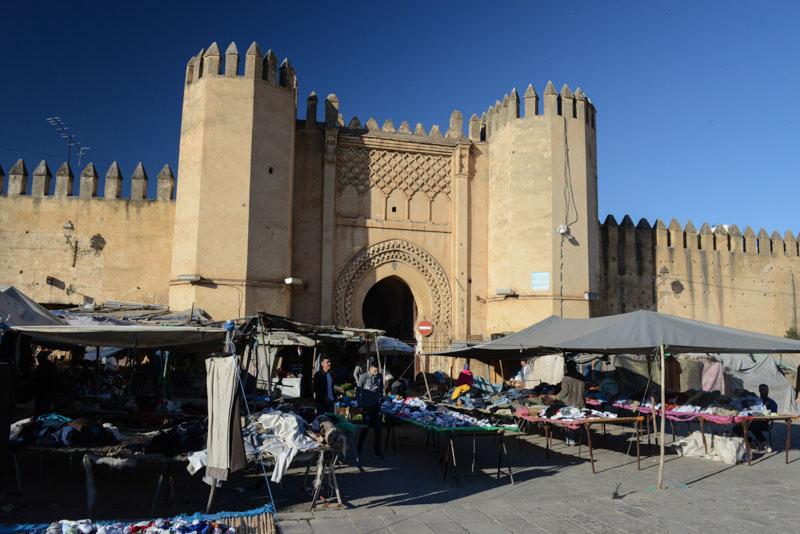 Fes, Fès, Fez, Marokko, Bab Chorfa, Medina, Altstadt, Märkte, Reisebericht, www.wo-der-pfeffer-waechst.de