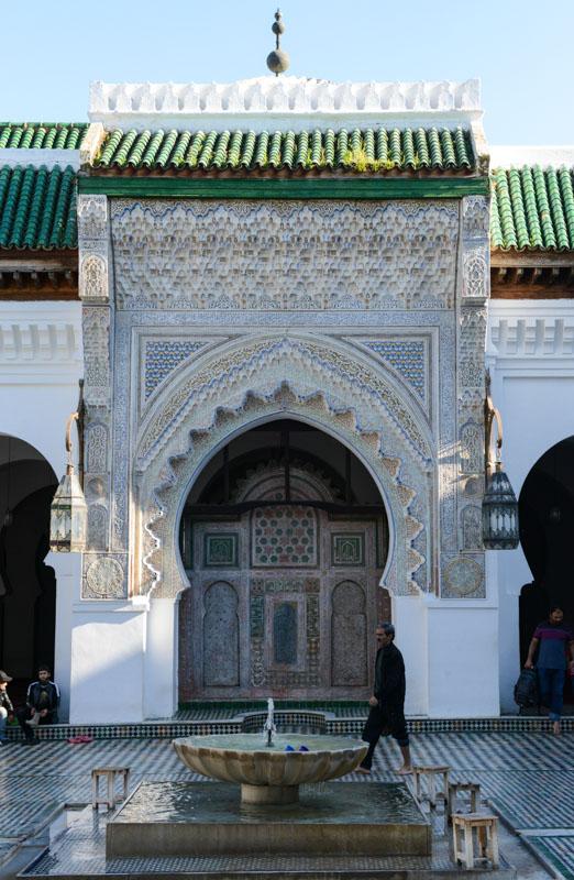 Fes, Fès, Fez, Marokko, Kairaouine-Moschee, Mosque al-Qarawīyīn, älteste Universität der Welt, Medina, Altstadt, Reisebericht, www.wo-der-pfeffer-waechst.de