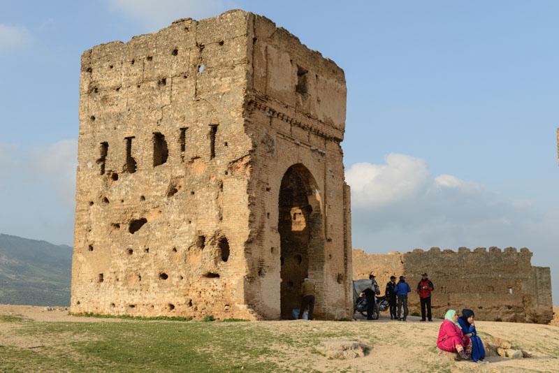 Fes, Fès, Fez, Marokko, Medina, Altstadt, Merinidengräber, Ruinen, Wehrturm, Reisebericht, www.wo-der-pfeffer-waechst.de