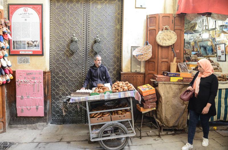 Fes, Fès, Fez, Marokko, Medrese Attarine, Madrasa, Koranschule, Medina, Altstadt, Reisebericht, www.wo-der-pfeffer-waechst.de