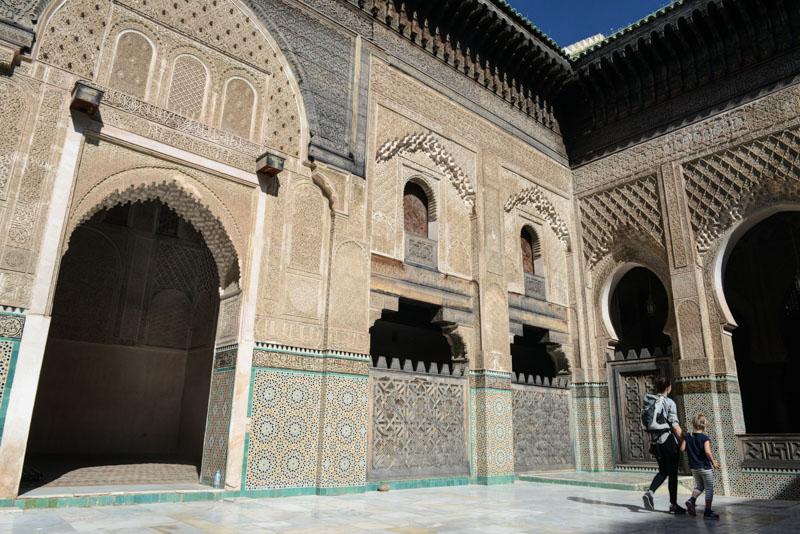 Fes, Fès, Fez, Marokko, Medrese Bou Inania, Madrasa, Koranschule, Medina, Altstadt, Reisen mit Kindern, Reisebericht, www.wo-der-pfeffer-waechst.de