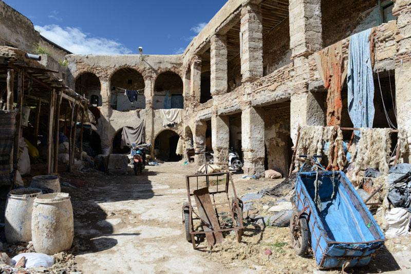 Fes, Fès, Fez, Marokko, Karawanserei, Medina, Altstadt, Reisebericht, www.wo-der-pfeffer-waechst.de