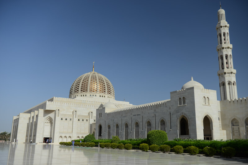 Maskat, Stopover, Muscat, Oman, Große Sultan-Qabus-Moschee, Reisebericht, www.wo-der-pfeffer-waechst.de
