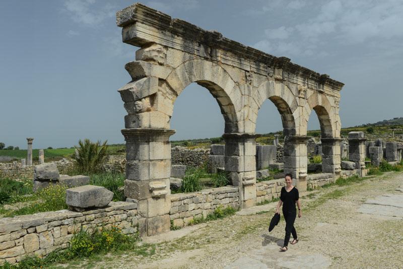 Volubilis, römische Ruinen, Tagestour, Fes, Fès, Fez, daytrip, Marokko, Reisebericht, www.wo-der-pfeffer-waechst.de