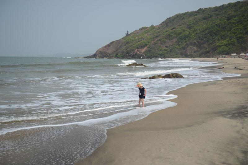 Kalacha Beach, Arambol Beach, Goa, Strände, Norden, Strand, Nordgoa, Reisen mit Kindern in Indien, travel with children in India, Südasien, Bilder, Fotos, Reiseberichte, www.wo-der-pfeffer-waechst.de