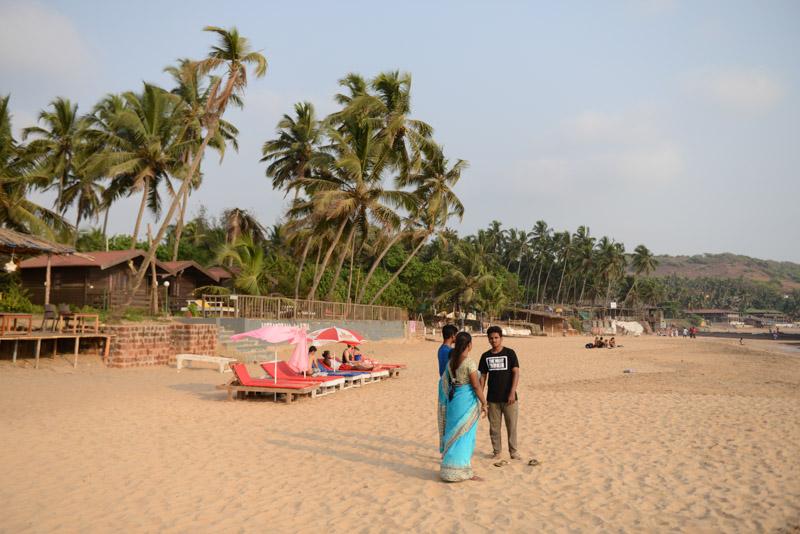 Praia Beach Resort, Cottage, Anjuna-Beach, Strand, Strände, Goa, Indien, India, Bungalow, Unterkunft, Zimmer, Hotel, room, accommodation, guesthouse, Beachfront, Booking, Südasien, Bilder, Fotos, Reiseberichte, www.wo-der-pfeffer-waechst.de