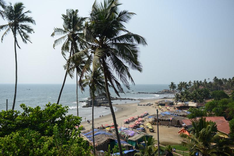 Little Vagator Beach, Ozran Beach, Little Vagator Beach, Goa, Strände, Indien, India, Reisen, Südasien, Bilder, Fotos, Reiseberichte, www.wo-der-pfeffer-waechst.de