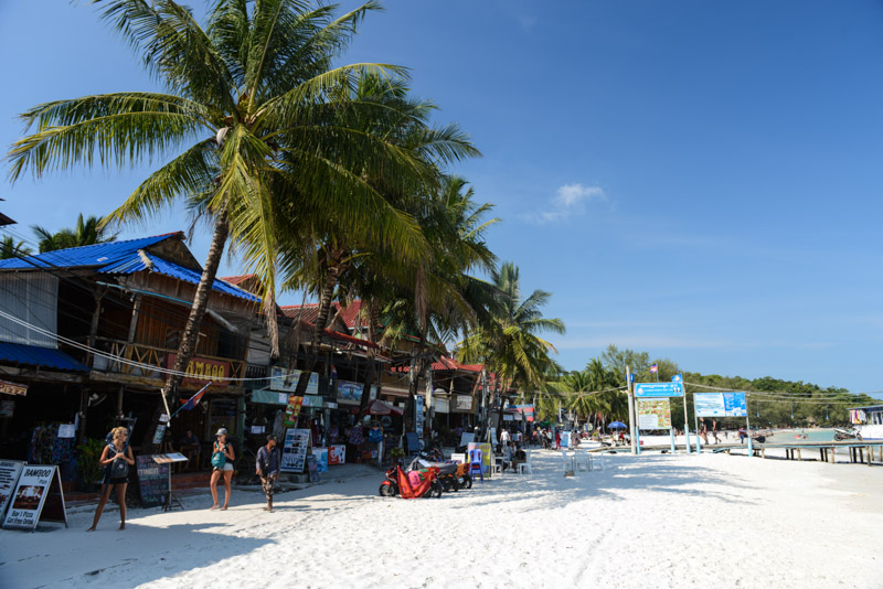 Koh Rong Beach Guide, Kambodscha, Insel, Strand, die schönsten Strände, Koh Toch Village, Koh Toch Beach, Koh Tuch Beach, Koh Touch Beach, Koh Tui Beach, Cambodia, Südostasien, Bilder, Fotos, Reiseberichte, www.wo-der-pfeffer-waechst.de
