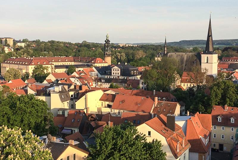Blick von der Jakobskirche auf Weimar, Sehenswürdigkeiten, Städtetrip, Reisebericht, Deutschland, Thüringen, www.wo-der-pfeffer-waechst.de