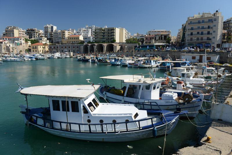 Heraklion, Iraklio, Altstadt, venezianischer Hafen, Reisebericht, Kreta, Griechenland, Bilder, Fotos, Südeuropa, www.wo-der-pfeffer-waechst.de