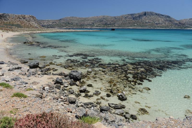 Strand, Beach, Insel Imeri Gramvousa, Kreta, Kissamos, Griechenland, Reisebericht, Urlaub, Fotos, Bilder, www.wo-der-pfeffer-waechst.de