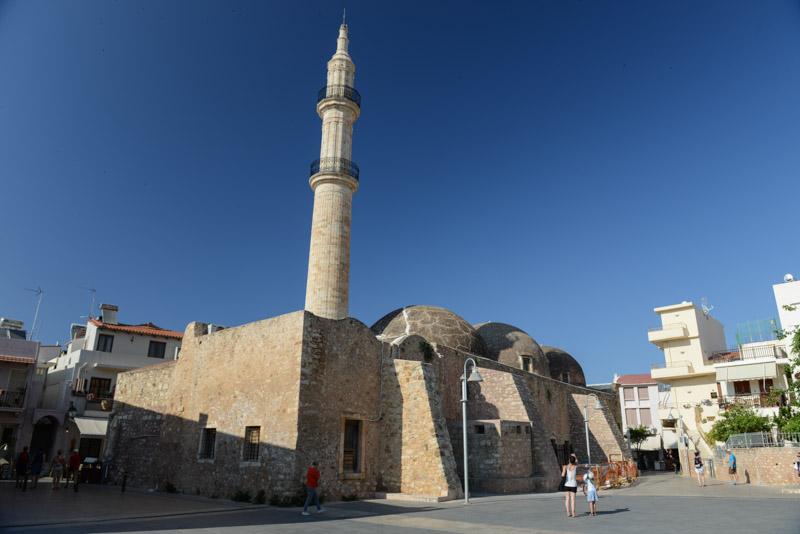 Rethymno, Altstadt, Moschee, Reisebericht, Kreta, Griechenland, Urlaub, Bilder, Fotos, Südeuropa, www.wo-der-pfeffer-waechst.de