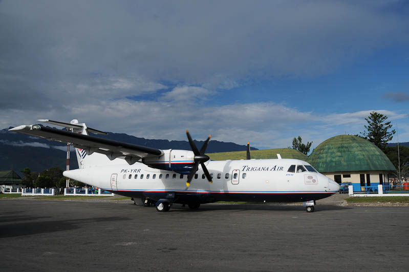 Indonesien, West-Papua, Wamena Airport, www.wo-der-pfeffer-waechst.de