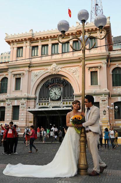 Vietnam, Ho-Chi-Minh-Stadt, City, Saigon, Post, www.wo-der-pfeffer-waechst.de