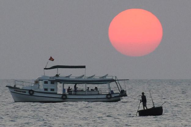 Vietnam, Phu Quoc, Insel, Sonnenuntergang, Sunset, Beach, Strände, www.wo-der-pfeffer-waechst.de