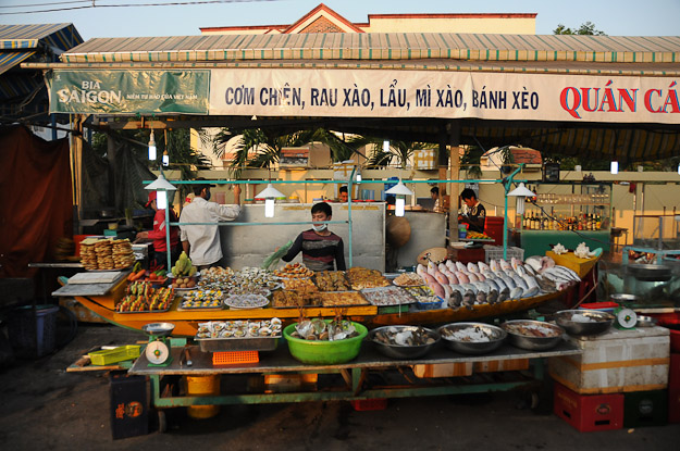 Vietnam, Phu Quoc, Insel, Duong Dong, Nachtmarkt, www.wo-der-pfeffer-waechst.de
