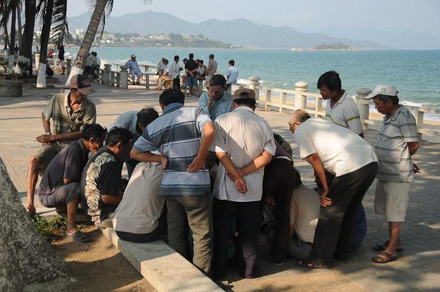 Vietnam, Nha Trang, Strandpromenade, www.wo-der-pfeffer-waechst.de